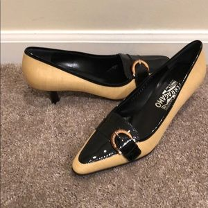 Never been worn Salvatore Ferragamo heels